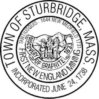 Sturbridge, Massachusetts - Image: Sturbridge MA seal