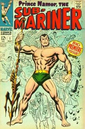 Namor - Image: Sub Mariner 1968n 1