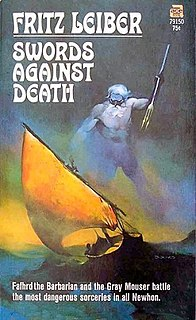 <i>Swords Against Death</i> book by Fritz Leiber