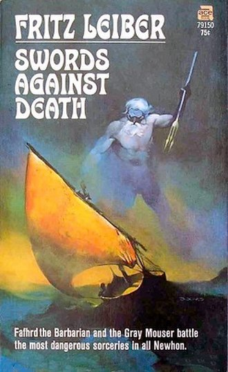 Swords Against Death - cover art from first edition