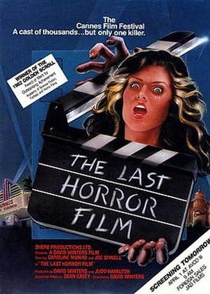 The Last Horror Film - Theatrical Poster