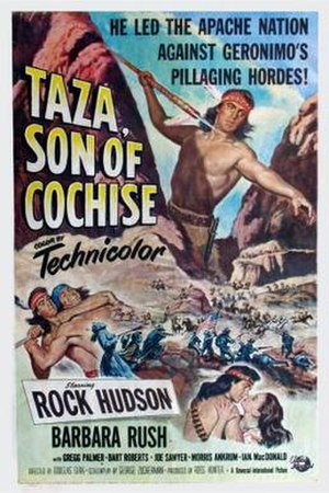 Taza, Son of Cochise - Film poster by Reynold Brown