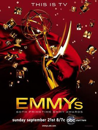 60th Primetime Emmy Awards - Promotional poster