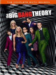 View The Big Bang Theory - Season 6 (2012) TV Series poster on Ganool