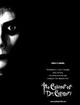 The Cabinet of Dr. Caligari (2005 film) - Theatrical release poster