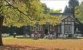 Pittville - Central Cross Drive café