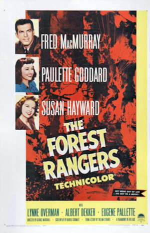 The Forest Rangers (film) - 1942 Theatrical Poster