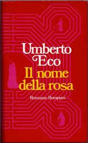 The Name of the Rose - First edition cover (Italian)
