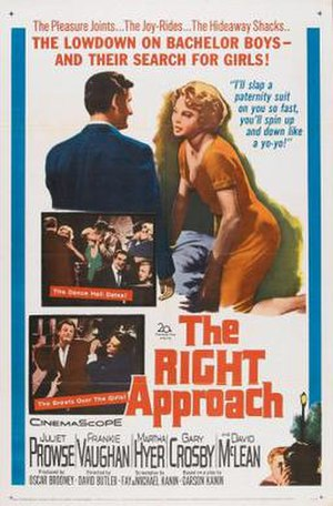 The Right Approach - Image: The Right Approach Film Poster