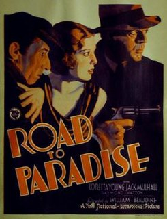 <i>Road to Paradise</i> (film) 1930 film by William Beaudine