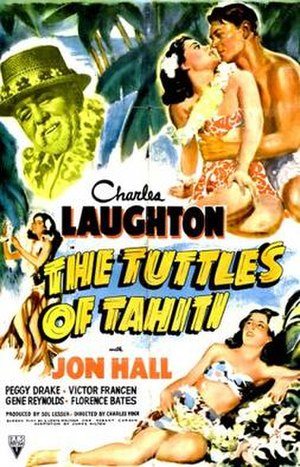 The Tuttles of Tahiti - theatrical poster