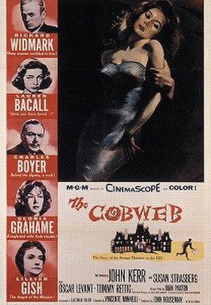 The Cobweb (film) - Theatrical release poster