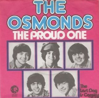 The Proud One 1975 single by The Osmonds