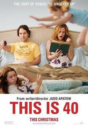 This Is 40 - Theatrical release poster