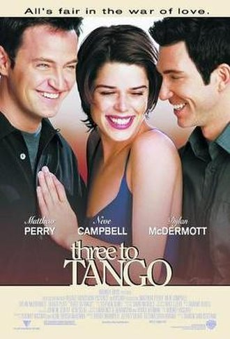 Three to Tango - Theatrical release poster