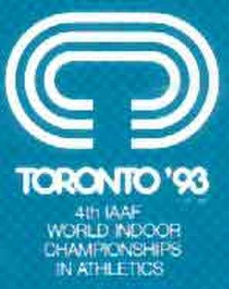 1993 IAAF World Indoor Championships - Image: Toronto 1993 logo
