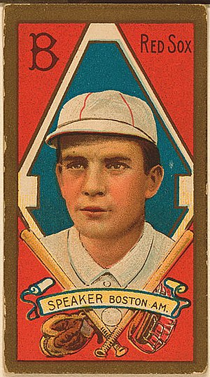 Tris Speaker Baseball Card