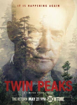 Twin Peaks (season 3) - Poster featuring Kyle MacLachlan as Dale Cooper