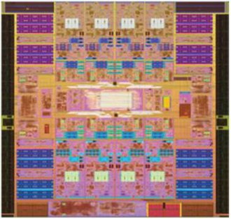 UltraSPARC T2 - UltraSPARC T2 micrograph