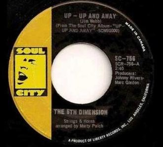 Up, Up and Away (song) - Image: Up, Up and Away single cover