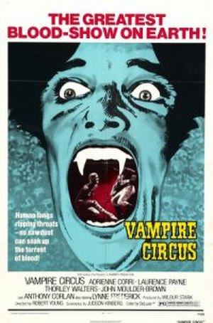 Vampire Circus - Theatrical release poster