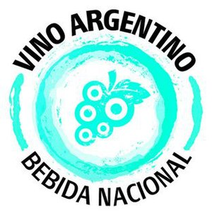 Argentine wine - Image: Vino Argentino Bebida Nacional Logo