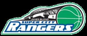 Super City Rangers - Image: Waitakere Rangers B Ball Logo