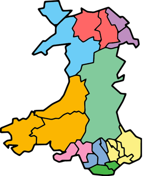 Local government in Wales - Proposed 9 local authorities model