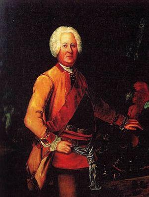 Wilhelm Dietrich von Buddenbrock - Von Buddenbrock circa 1720-1730