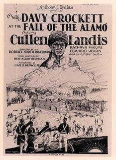<i>With Davy Crockett at the Fall of the Alamo</i> 1926 film by Robert N. Bradbury