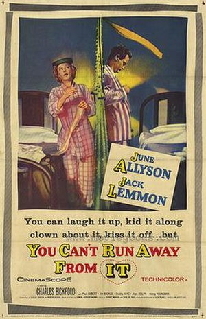 You Can't Run Away from It - theatrical poster