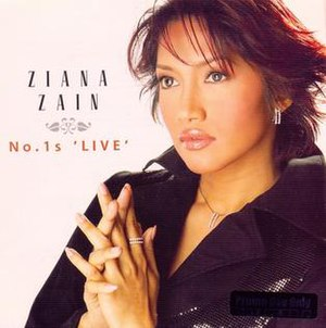 Ziana Zain No. 1s Live - Image: Ziana no 1slive