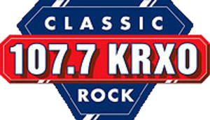 KRXO-FM - 107.7 KRXO logo used from 1990's to 2013.