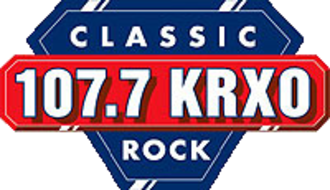 KRXO-FM - 107.7 KRXO logo used from 1990's to 2013.