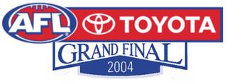 2004 AFL Grand Final grand final of the 2004 Australian Football League season