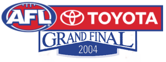 2004 AFL Grand Final - Image: 2004AFLGrand Final
