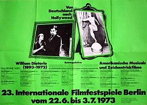 23rd Berlin International Film Festival - Festival poster