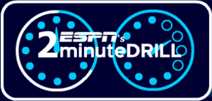 2 Minute Drill (game show) - 2 Minute Drill logo.