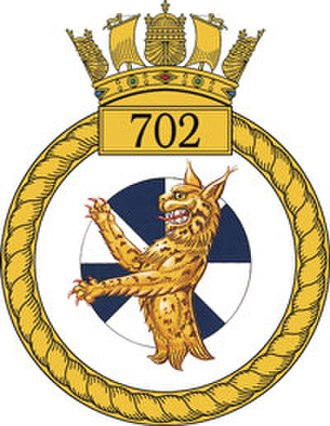 702 Naval Air Squadron - 702 NAS Badge