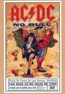 <i>No Bull</i> 1996 video by AC/DC