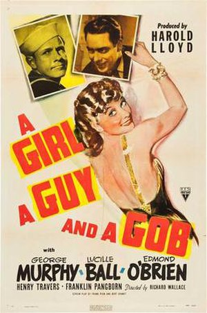 A Girl, a Guy and a Gob - Theatrical release poster