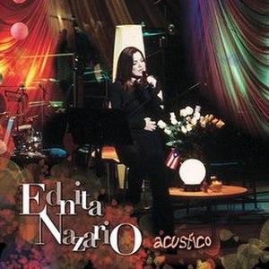 Acústico (Ednita Nazario album) - Image: Acusticoednita