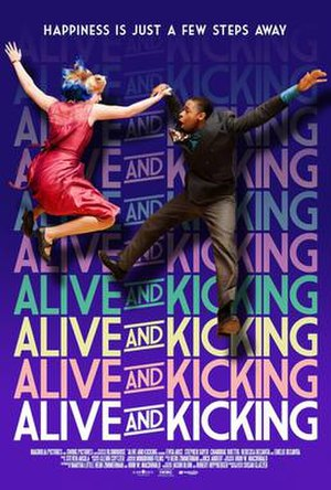 Alive and Kicking (2016 film) - Theatrical release poster