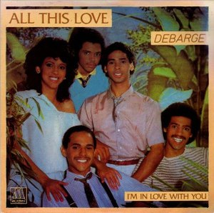 All This Love (song) - Image: All This Love single