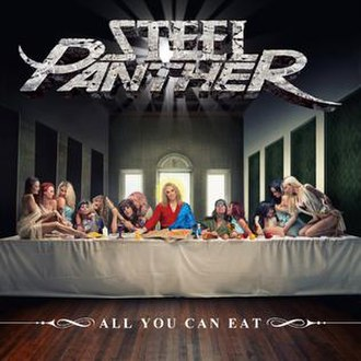 All You Can Eat (Steel Panther album) - Image: All You Can Eat Album Cover