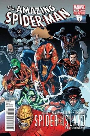 Spider-Island - Image: Amazing Spider Man 667