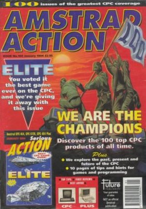 Amstrad Action - Image: Amstradaction 100