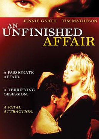An Unfinished Affair - DVD cover