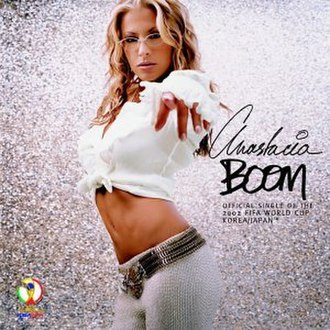 Boom (Anastacia song) - Image: Anastacia Boom single cover