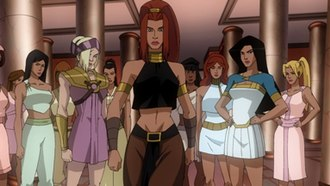Artemis of Bana-Mighdall - Artemis depicted in the 2009 animated Wonder Woman film.
